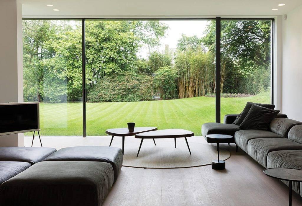Living room viiu door installation
